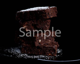 Digital Photography Download (chocolate brownie)