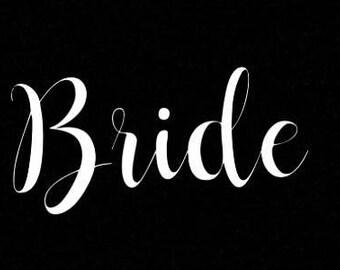 Bride Iron-on
