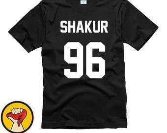Shakur 96 Shirt Tupac 2PAC Shirts T Shirt T-Shirt TShirt Tee Shirt Unisex More Colors XS - 2XL