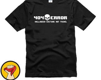 404 error costume not found shirt cheap halloween costume shirt unisex kiss me more colors xs