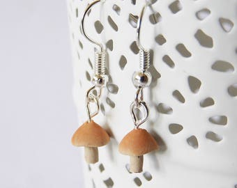 Mushroom earrings earrings