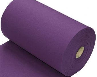 Cuff/Ribbing: Purple (95/5 Cotton/Elastane, 260gsm)  *UK*