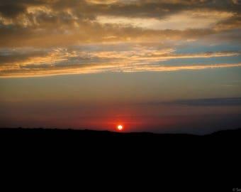 """Photograph """"Rising sun"""""""