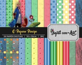 Little Prince Digital Paper