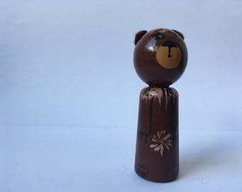 BERTL bear finger puppet