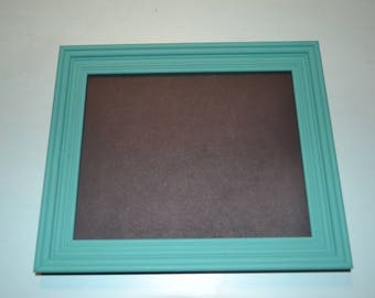 Teal Chalkboard Picture Frame