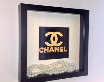 CHANEL inspired picture frame