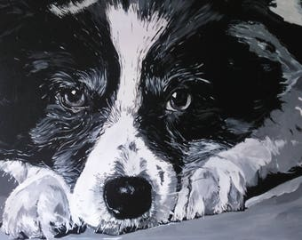 Commission original canvas