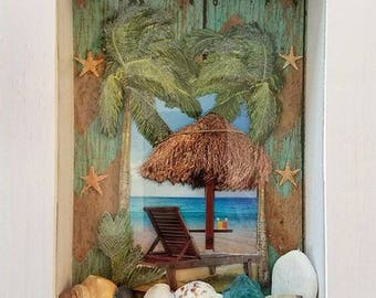 Day On The Shore Shadowbox