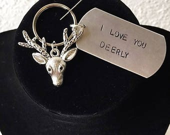 Deerly Keychain