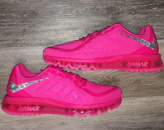 Frauen Nike Air Max Thea Premium in Light Base GreyCool GreyMetallic wSwarovski Kristalle details