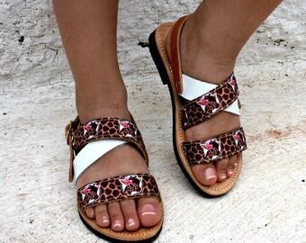 Safari girls outfit-Giraffe theme-PINK SAFARI-baby safari shoes-girls giraffe sandals