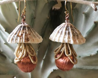 Limpet Tassel Earrings