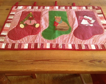 Christmas. stocking Wall Hanging
