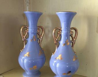 Set of Vintage Bud Vases