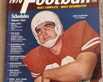 Street and Smith's 1970 College Football Yearbook