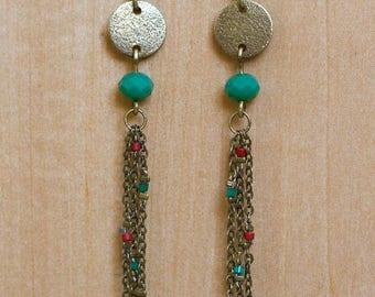 Earrings Moon Fuyante