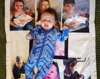 Baby blanket custom made to order