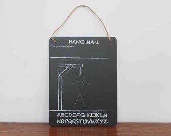 Hangman Chalkboard