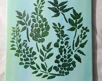 Envy green plant