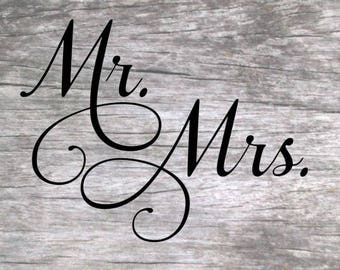 Mr. and Mrs. SVG Design