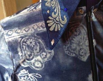 Baroque western showmanship shirt