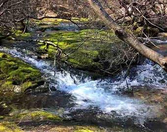 Vevcani, Macedonia, waterfalls