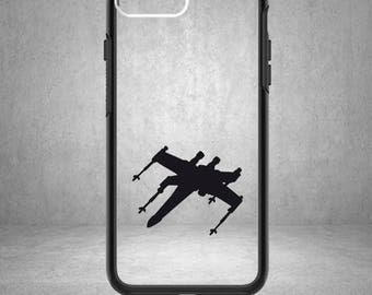 X Wing Fighter Vinyl Decal, X Wing Fighter Sticker, X Wing Fighter Decal, Star Wars Decal, Star Wars Sticker, Star Wars, Phone Case, X Wing