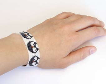 Bead bracelet Owls