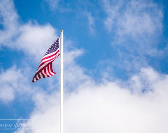 Flags of America - fine art photography print