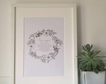 Marriage Rules Print