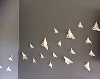 Butterfly Origami Wall Art 3D