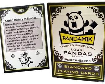 Pandamik Panda Poker Playing Cards
