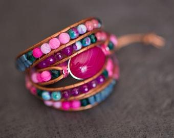 Bracelet Wrap brand Knc model Gypsy woman