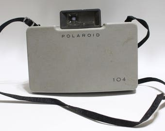 Vintage Polaroid Automatic 104 1960's Land Camera