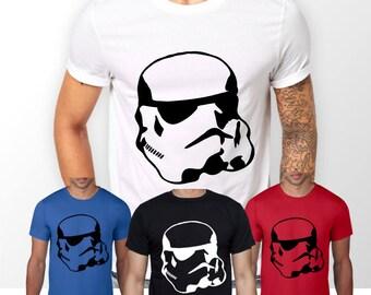 Men's Star Wars Stormtrooper T-Shirt, Crew Neck - Original Design