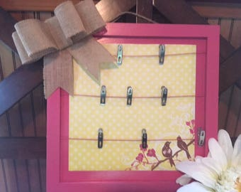 Message Board, Memo Board, Photo Board