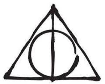 Harry Potter Inspired - Deathly Hallows Decal
