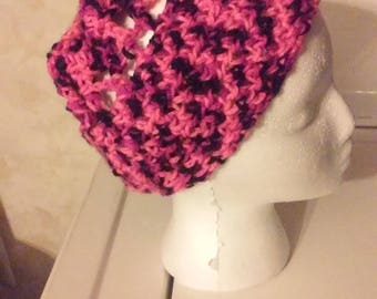 Pink Panther Crochet Hat