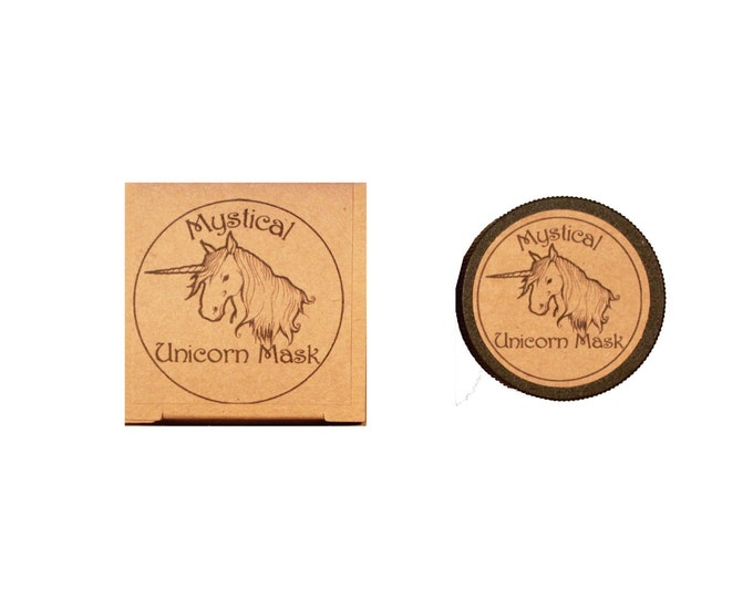 Mystical Unicorn Mask, for sensitive, dry and mature skin types, botanically marvelous