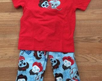 Cowboy Skull Pajama Pants