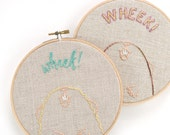 Wheek - Guinea Pig or Cavy Mini Hand Embroidery Pattern