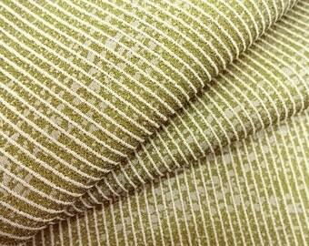 Vintage silk kimono bolt  - light olive green - 12.5 yards