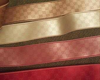 8 yards silk satin Ribbon multi colored designer precut craft diy supply