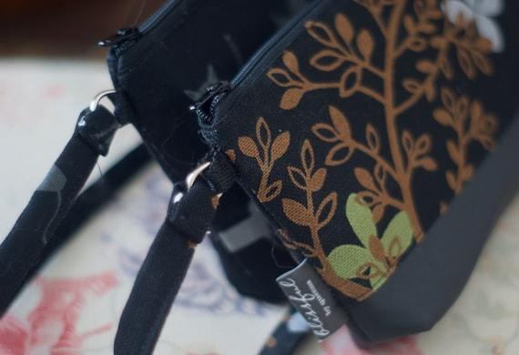 Custom wristlet wallet | Vegan wallet | Shoulder Bag | Fabric wristlet | Clutch wallet | Wallet