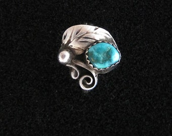 Sterling Silver and Turquoise Ring