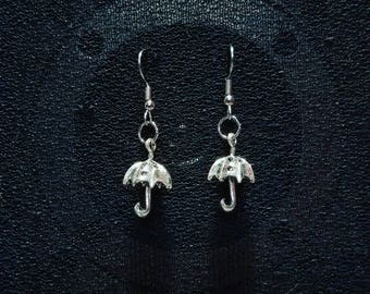 Umbrella Parasol Dangle Earrings