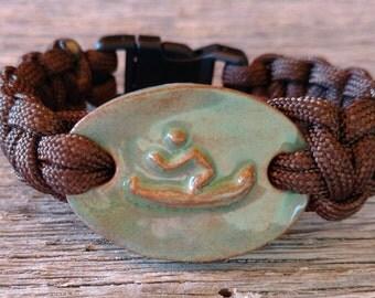 Maggie's Farm Paracord Survival Bracelet Canoe
