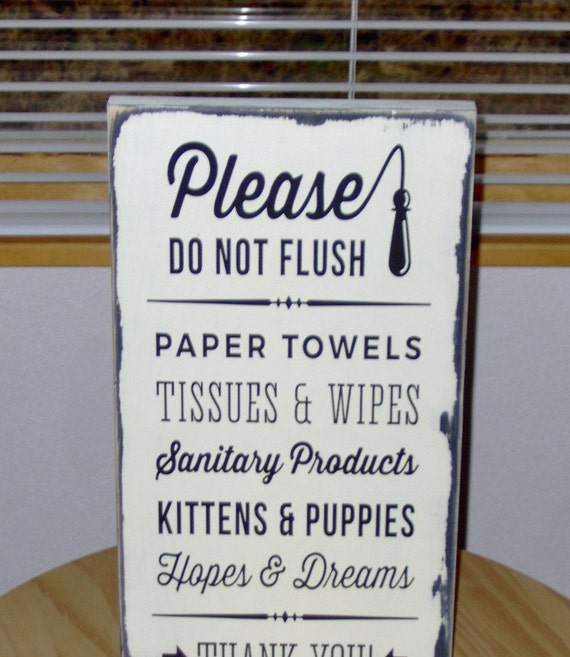Please do not flush toilet paper only septic safe bathroom for 1 bathroom septic system