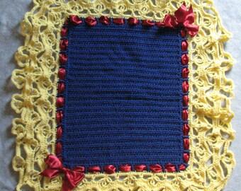 Baby Blanket Pattern - Snow White Inspired Baby Afghan Crochet Pattern - Crochet Pattern - Baby Crochet Pattern - Digital Download
